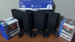 Playstation 4 Slim 1TB com garantia- SOMOS LOJA