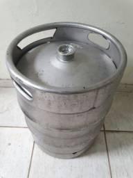 Barril de chopp aço 50 litros - bom estado