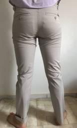 Calça Docthos + camisa Luigi Bertolli