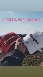 2 BONÉS por R$100,00