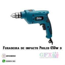 Furadeira de impacto 650w de potência