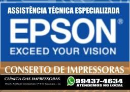 Título do anúncio: assistência tecnica epson