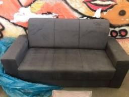Título do anúncio: Sofa 3 Lugares Em Suede Frete Gratis