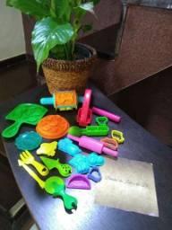 Kit-para massinha Play Doh