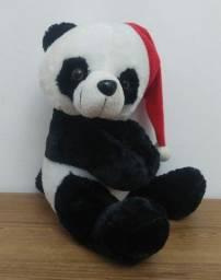 Pelúcia - Urso panda Natalino