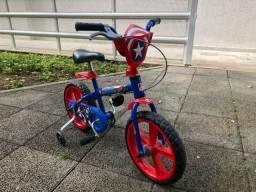 Bicicleta Capitão America