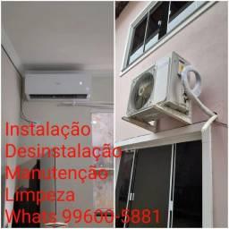 Título do anúncio: Instalação, desinstalação, manutenção de ar condicionado