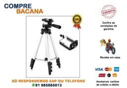 Título do anúncio: Tripé Celular 3 Way Câmera Ajustável Profissional 1m 3110