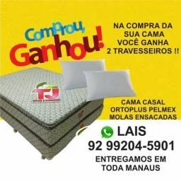 CAMA CASAL MOLAS ENSACADAS OFERTA!!!!