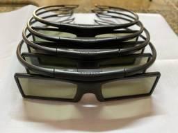 Óculos 3D Samsung SSG-P51002 Preto - Kit com 4