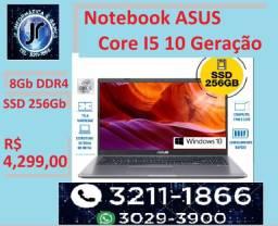 Título do anúncio: Notebook Asus - Core i5 - 10 geração - SSD 256GB - 15,6