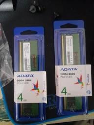 Memoria ran ddr4 adata 4gb 2666mhz