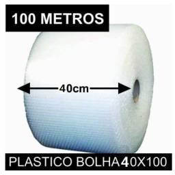 Bobina 20 cm x100 Metros Plástico Bolha