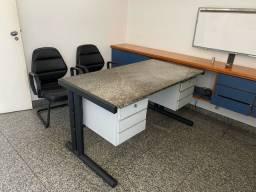 Título do anúncio: Cadeiras e mesa para escritório