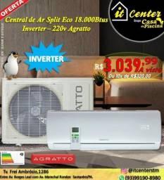 Central de Ar Split Eco 18.000btus Inverter 220v Agratto
