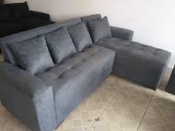 Sofa NOVO COR CINZA