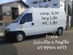 Título do anúncio: Frete Joinville e Região.
