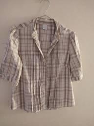 Camisa feminina xadrez M