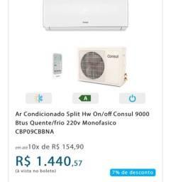 Ar-condicionado quente/frio