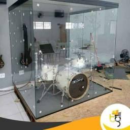 Título do anúncio: Cabine acústica . Escudo acrílico ou vidros temperados