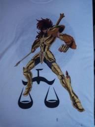 Título do anúncio: Cavaleiros do Zodiaco LIBRA Camiseta