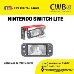Nintendo Switch lite. Novo, lacrado e com garantia. Loja Física