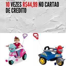 Título do anúncio: triciclo  grande por  10 vezes de R$44,99 no cartão e no dinheiro vindo busca tem desconto