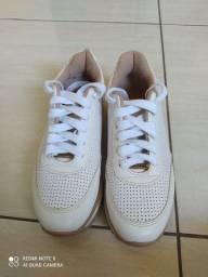 Sapatênis vizzano branco