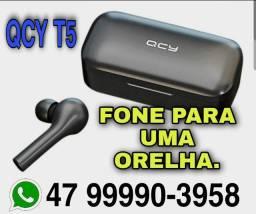 Fone de ouvido bluetooth QCY T5