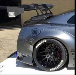 Título do anúncio: Letras brancas para pneu qualquer aro roda