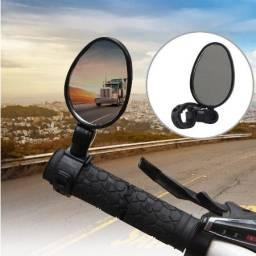 Retrovisor ciclistas, espelho para bicicletas Par esquerdo e direito (pronta entrega)
