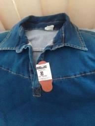 Vestido jeans novo 50 reais