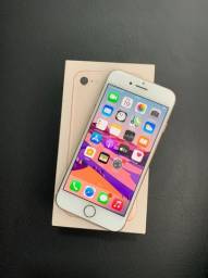 IPhone 8 64GB Dourado Completo Com garantia e NF Entrega Grátis Divido no cartão