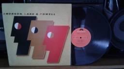 Lp Emerson, Lake & Powell - Selo Polydor - 1986 - Estilo: Rock Progressivo