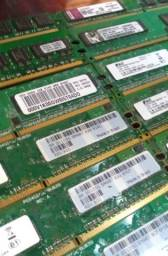 Memória DDR2 1Gb Kingston ou Smart