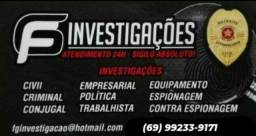 Título do anúncio: Detetive particular (Agência FG Investigações)
