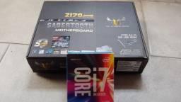i7 6700k + placa mãe Asus Sabertooth