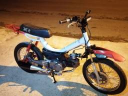 Título do anúncio: Mobilete bikelete com motor de biz 125 partida elétrica leilão