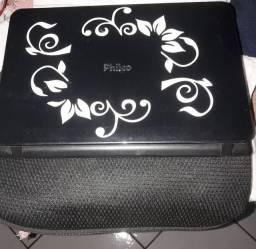 Netbook Philco com capa