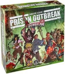 Título do anúncio: Jogo de tabuleiro: Zombicide Prison Outbreak (Boardgame)