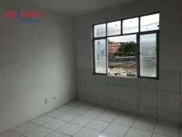 Apartamento Duplex com 3 dormitórios para alugar, 120 m² por R$ 1.150,00/mês - Ribeira - S