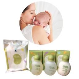 Conjunto Miniaturas Mamãe e Bebê Natura 50ml