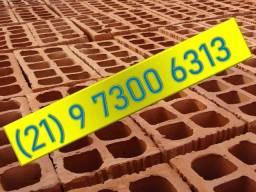 Título do anúncio: Tijolos lajotas da cerâmica - 10 furos