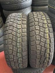 Título do anúncio: 2 pneus Tekystyre 205/60/16 (montagem grátis)