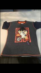 Título do anúncio: Camisa Goku dupla face