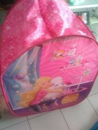 Linda cabana/casinha da Barbie