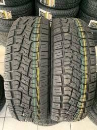 Título do anúncio: 02 pneus remolde 205/70/15 tekys tyres