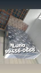 Título do anúncio: Cama cama casal Acsa mola bonnel ganhe dois travesseiros+frete grátis