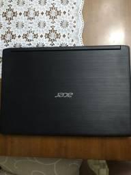 Título do anúncio: Notebook acer em perfeito estado 1 ano de uso