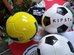 Bolas de futebol de campo tamanho e peso oficiais para adulto, todas novas.